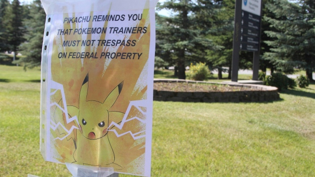 irked owners trying to get pokemon go users off private property