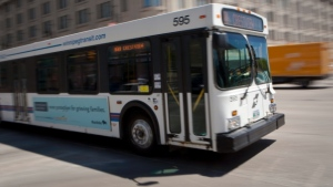 Winnipeg bus drivers won't enforce or inform riders of their obligation to pay fares Thursday. File image.