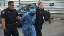 First degree murder suspect