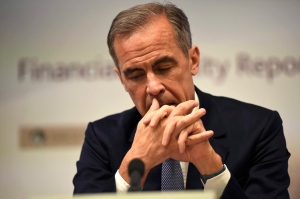 Bank of England governor Mark Carney in Canada to discuss climate change