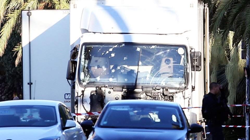 Truck used in Nice attack
