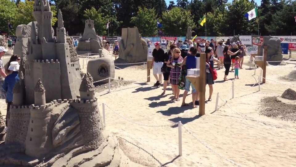 The Parksville Beach Festival is pictured in 2016: (CTV News)