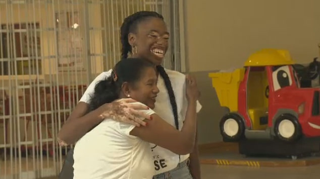 Aiesha Robinson found herself devestated when she was diagnosed with vitiligo eight years ago but has found purpose working with marginalized youth in her non-profit, Born to Rise.