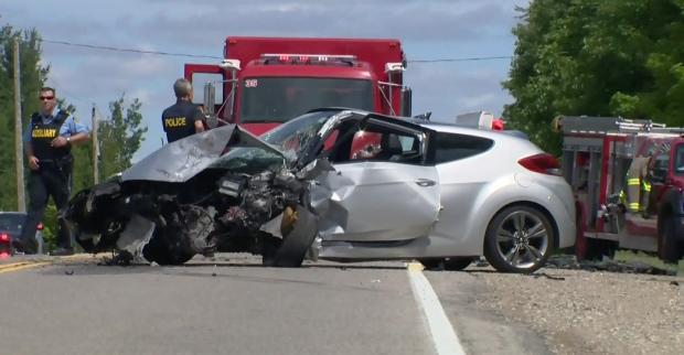 Wellington Road 35 crash
