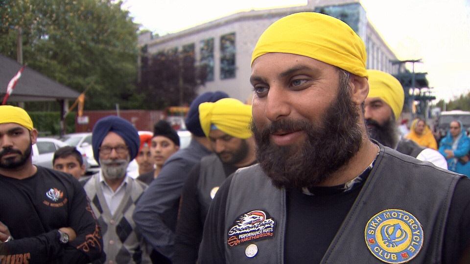 B.C.'s Sikh Motorcycle Club rode 12,000 kilometres across Canada to raise cash and awareness about pediatric cancer.