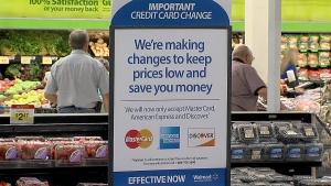 Walmart, Visa locked in dispute