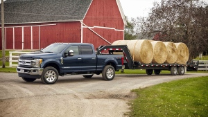 The 2017 Ford Super Duty is a leader in towing. (Photo from the Ford Motor Company)