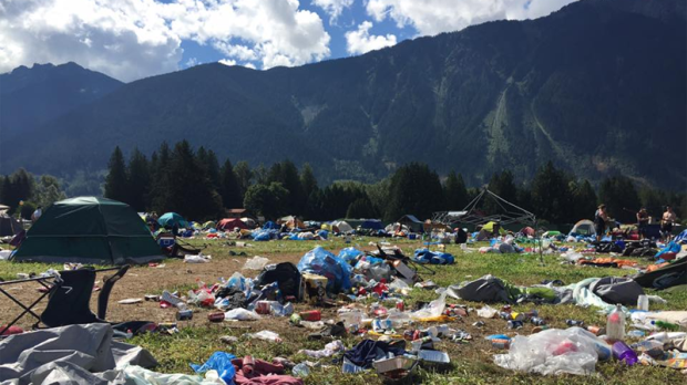 Camping London Ontario >> Campers shamed for disgusting mess left after Pemberton festival | CTV News