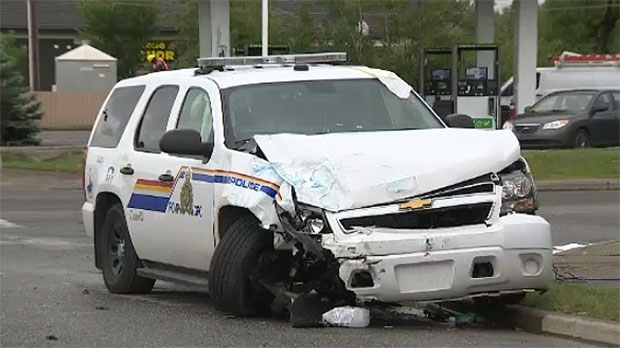 Two Charged In Crash That Injured Okotoks Rcmp Officer