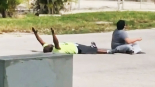 Fla. officer charged with shooting autistic man's caretaker