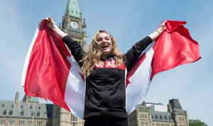 Gold medallist Rosie MacLennan to carry flag in Rio