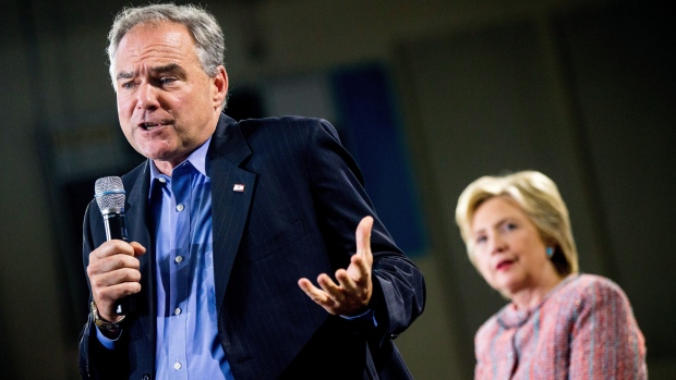Tim Kaine, possible Clinton running mate