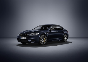 The BMW M5 Competition Edition in Carbon Black. (BMW Group AG / Relaxnews)
