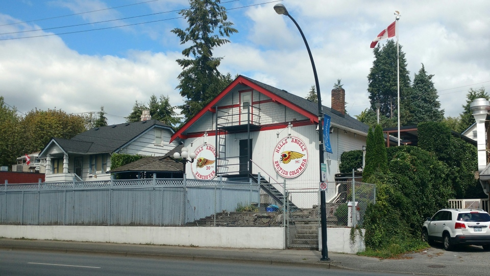 Pokemon Go Gym Hells Angel clubhouse Coquitlam