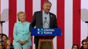 CTV National News: Clinton strikes upbeat tone
