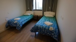 Beds stand ready in the bedroom of an apartment of the Olympic Village in Rio de Janeiro, Brazil, Saturday, July 23, 2016. The brand new complex of residential towers are where nearly 11,000 athletes and some 6,000 coaches and other handlers will sleep, eat and train during the upcoming games, that will kickoff on Aug. 5(AP Photo/Leo Correa)