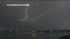 Extended: Intense lightning in N.S. knocks power
