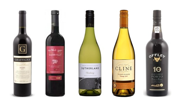 Wines of the Week - July 25, 2016