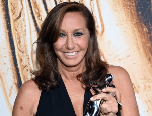 In this Monday, June 6, 2016 file photo, winner of the CFDA Founders Award, Donna Karan, poses at the CFDA Fashion Awards at the Hammerstein Ballroom, in New York. (Photo by Evan Agostini/Invision/AP, File)