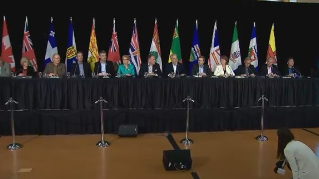The Canadian Premiers meet in the Yukon to discuss trade barriers.