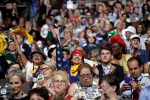 New Mexico delegates cheer during the first day of the Democratic National Convention in Philadelphia , Monday, July 25, 2016. (AP / John Locher)