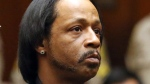 Comedian Katt Williams appears in court for his arraignment on robbery charges in Los Angeles on Oct. 27, 2015. (AP / Frederick M. Brown)