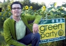 Erik Millett, principal of Belleisle Elementary, ran for the Green Party in the last federal election.