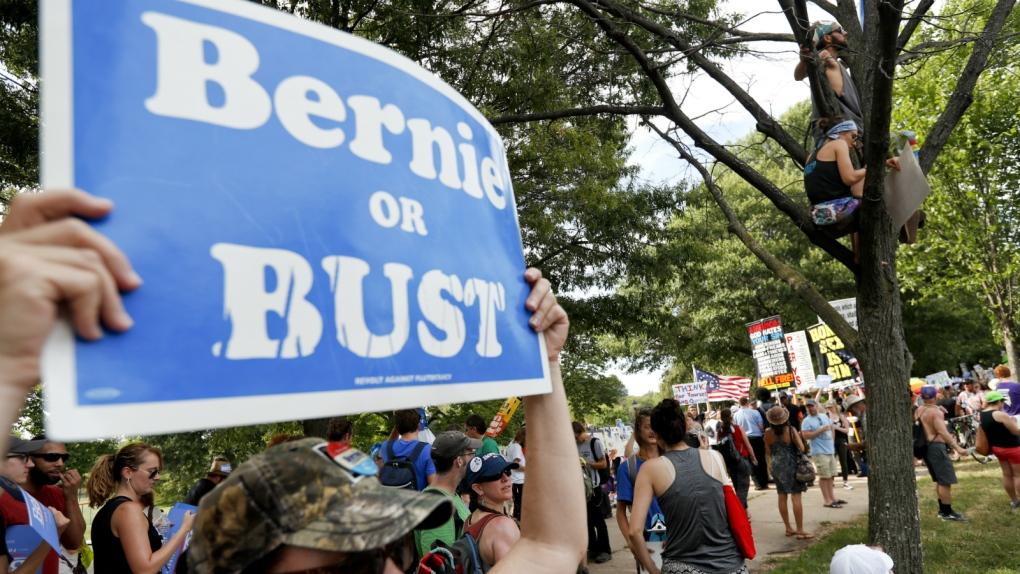 Sanders loyalists criticize Clinton