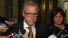 Brad Wall comments on oil spill