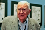 In this Oct. 11, 2011photo, cartoonist Jack Davis attends an event honoring him by the Savannah College of Art and Design and the National Cartoonists Society in Savannah, Ga. (AP / Stephen Morton)