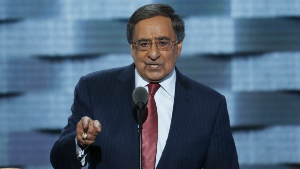 Former Defense Secretary Leon Panetta, speaks during the third day of the Democratic National Convention in Philadelphia on Wednesday, July 27, 2016. (AP / J. Scott Applewhite)
