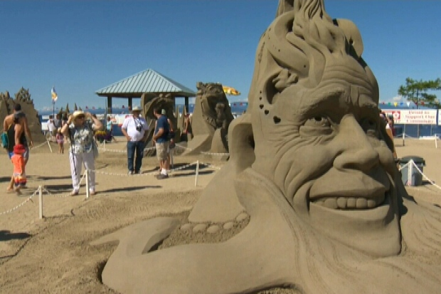 One of Vancouver Island's biggest summer attractions is drawing tens of thousands of people from across the country. July 28, 2016 (CTV Vancouver Island)