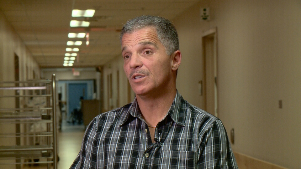 Steve Pollard was diagnosed with hepatitis C. Ottawa, July 28, 2016