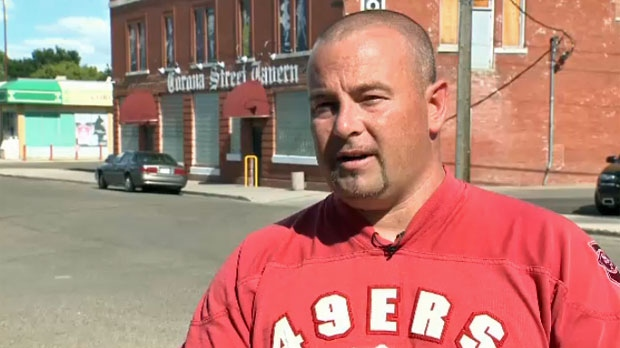 Peter Smith has resigned from his position as a bouncer at the Corona Street Tavern in Medicine Hat