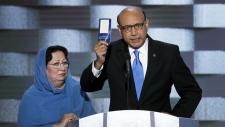 Muslim father slams Trump at Democratic convention