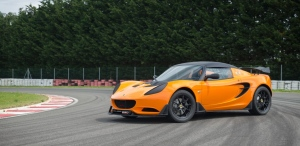 The Lotus Elise Race 250 is shown. (AFP)
