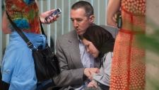 John Nuttall and Amanda Korody in court