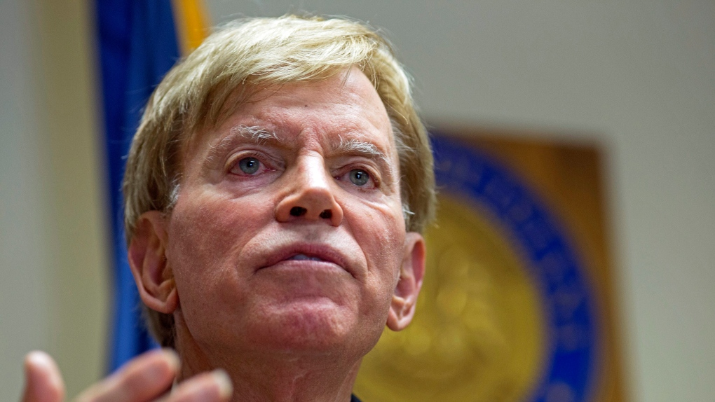 Former KKK leader David Duke permanently banned from Twitter