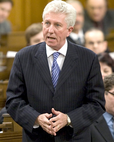 Bloc Quebecois Leader Gilles Duceppe questions the government during Question Period in the House of Commons on Parliament Hill in Ottawa, on Thursday, Jan.29, 2009. (Adrian Wyld / THE CANADIAN PRESS)