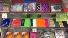 School supplies are pictured on Friday, Aug. 21, 2015. (Dan Lauckner / CTV Kitchener)