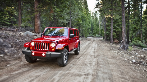 Jeep Wranglers SUVs recalled