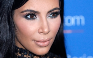 In this June 24, 2015, file photo, Kim Kardashian poses during a photo call at the Cannes Lions 2015, International Advertising Festival in Cannes, southern France. Kardashian said on Twitter August 3, 2016, that her BlackBerry smartphone died. (AP Photo/Lionel Cironneau, File)