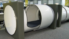 BCIT sleep pods