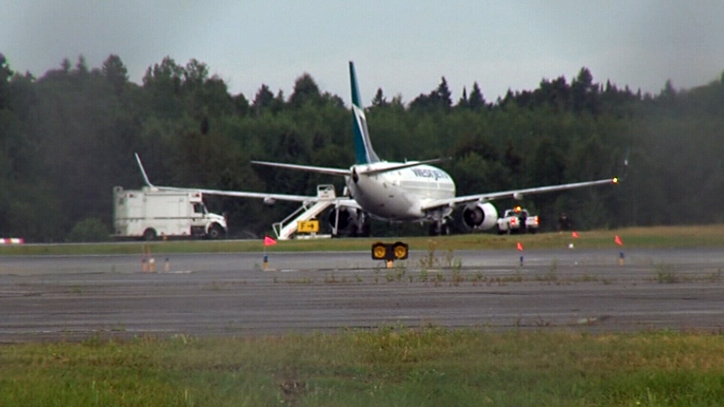 The flight left Vancouver on Wednesday afternoon, and was scheduled to land in Ottawa at midnight.