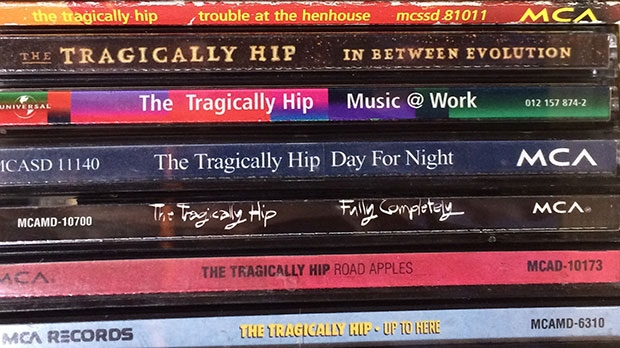 Tragically Hip, Gord Downie, The Hip, concert, Cal