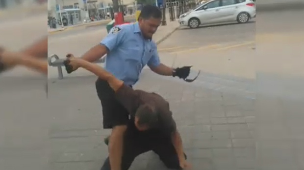Altercation captured on video (guidepostmedia)
