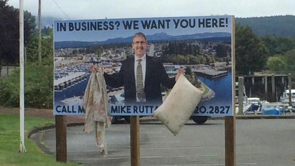 Port Alberni Mayor Mike Ruttan