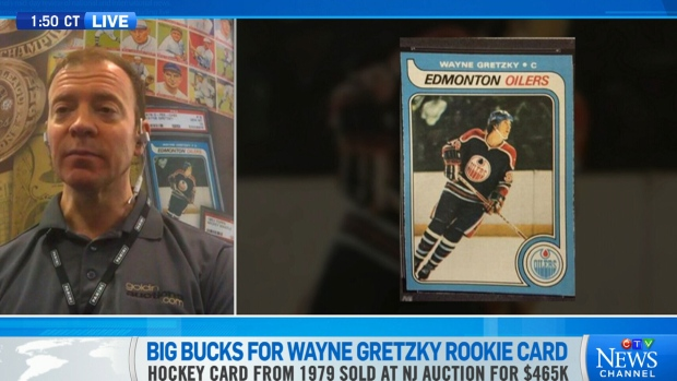 Number 1 Of All Time Gretzky Rookie Card Sells For 612k