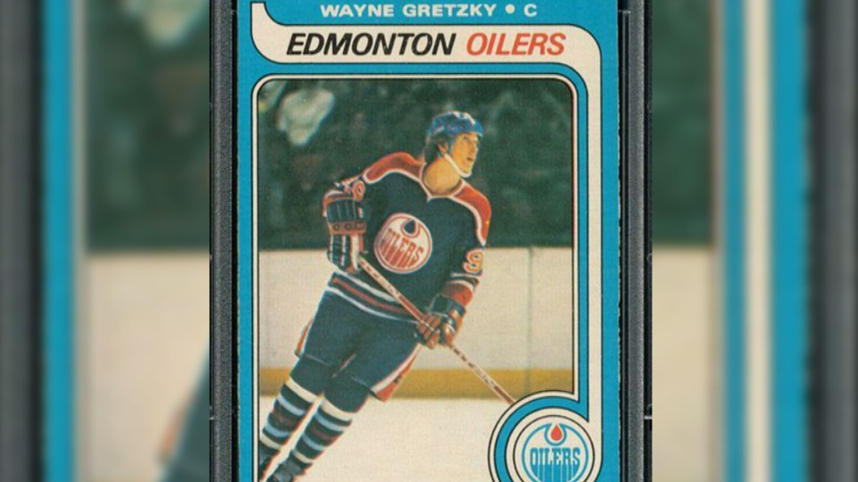 Big bucks rolled out for Wayne Gretzky 1979 rookie