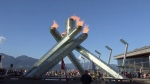 Vancouver Olympic Cauldron lit for Rio 2016